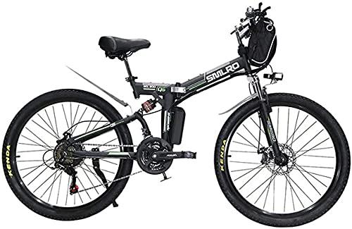 CASTOR Bicicleta electrica Bicicleta eléctrica Bicicleta Bicicleta Plegable para Adultos, 26 Pulgadas...