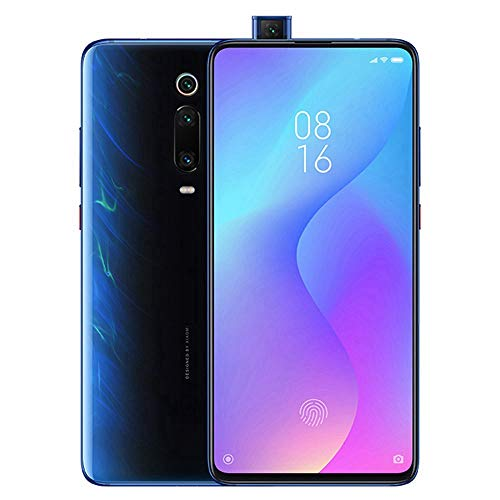 Xiaomi Mi 9T (128GB, 6GB RAM) 6.39' AMOLED FHD + Full Screen Display, 48MP Triple Camera, Global 4G LTE Dual SIM GSM Factory Unlocked (Glacier Blue)