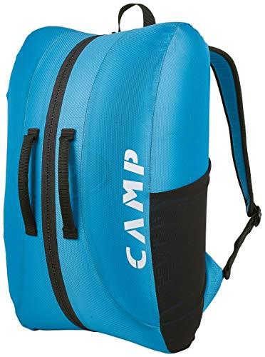 CAMP Rox - Mochila de escalada unisex para adultos, color azul, turquesa y negro, 40 l