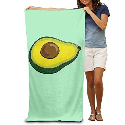 xcvgcxcvasda Avocado Adult Colorful Beach Or Pool Hooded Towel 31