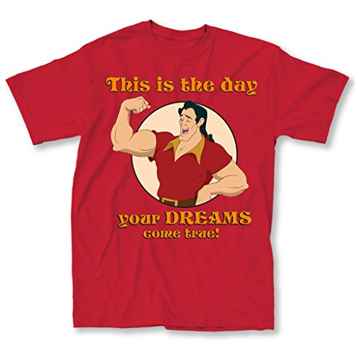 Disney Gaston Dromen Heren T-shirt (XL)