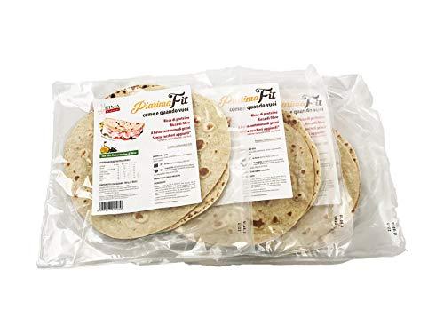 Piadina Ri.Ma Benessere PiaRima, 3 pz., piadina dietetica, low carb, basso contenuto di calorie,