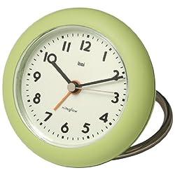 BAI Rondo Travel Alarm Clock, Chartreuse