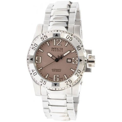 Invicta Herren-Armbanduhr XL Invicta Reserve Chronograph Edelstahl 0983