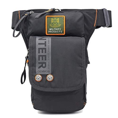 whbage Sac Ceinture Motorcycle Rider Men Military Fanny Waist Pack Belt Hip Bum Drop Thigh Pouch Crossbody Shoulder Bags Oxford Leg Bag