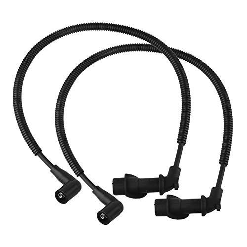 Shiwaki 1 par de cables de la bobina de encendido de la bujía para Polaris RZR S 800 2009-2010, Material seguro y duradero