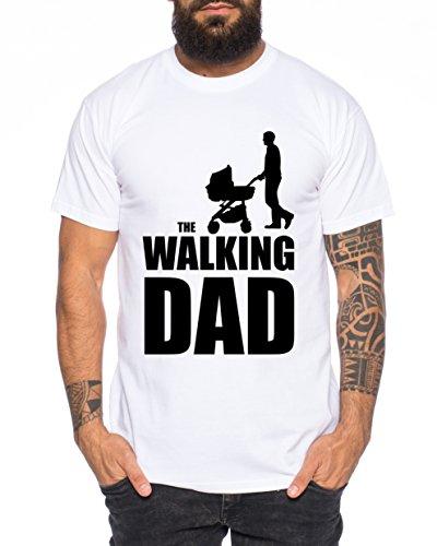 The Walking Dad Uomo T-Shirt Nerd Dead,...
