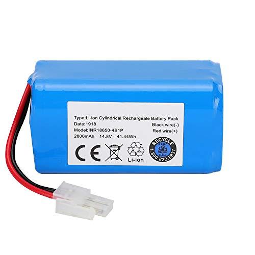 Aspirador de batería Reemplazo de batería de Iones de Litio 14.8V 2800Mah para Robot Aspirador ILIFE A4 A4S A6 V7