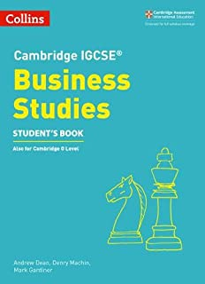 Cambridge IGCSE™ Business Studies Student's Book