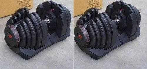 Bowflex Two Adjustable Dumbbells 1090