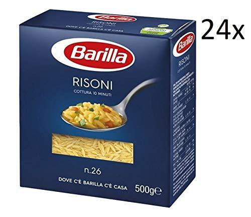 24x Pasta Barilla Risoni Nr. 26 italienisch Nudeln 500 g pack