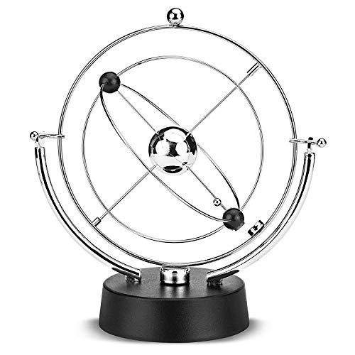BaiSuiLiang Cosmos Kinetic Perpetual Motion, Elektronische Perpetual Motion Physik Wissenschaft Drehbares Himmelsmodell Kinetic Art Craft Schreibtischdekoration