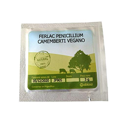 Cocinista Penicillium Camemberti Vegano - 3 g - Queso Camembert Vegano