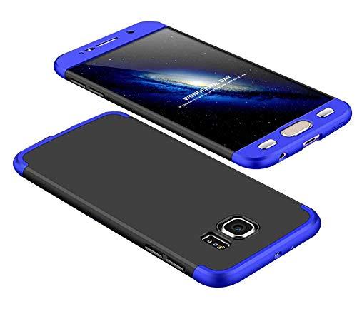 cmdkd Funda Compatible con Samsung Galaxy S6,Bumper 3 en 1 Estructura 360...