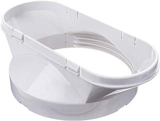 Adaptador De Ventana, 13cm Adaptador De Ventana Blanco Duradero De PVC para Repuestos Portátiles De Aire Acondicionado