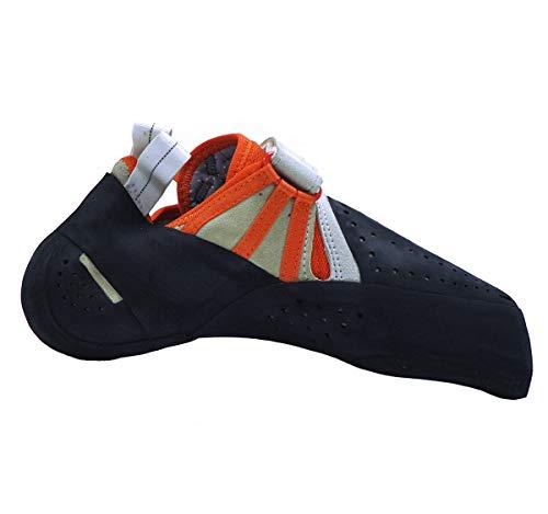 Butora Acro Chaussons d'escalade, Orange/White Pointures UK 7,5 | EU 41,5 2019 Chaussures d'escalade