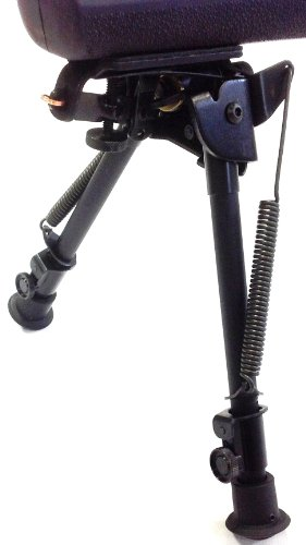 Harris Adjustable Rifle Bipod With Swivel Model L Swivel Feature Adjusts...
