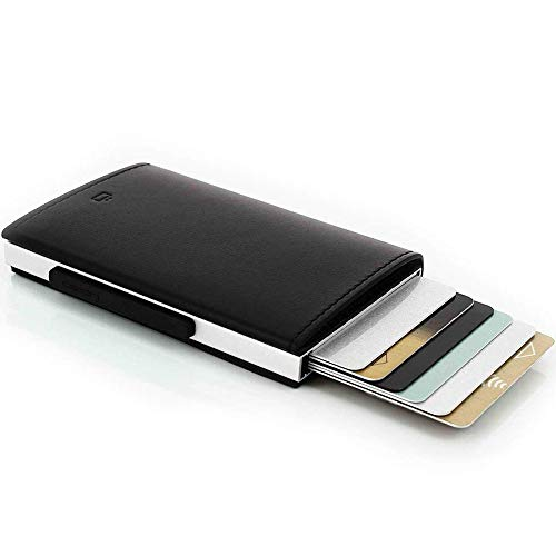 ögon Aluminium Credit Card Holder Rfid Schutz Cascade Black