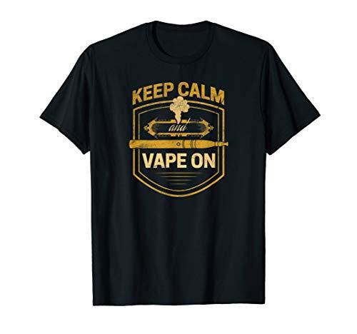Vape On And Relax | Vaping Vaper Dampfer Electric Smoker T-Shirt