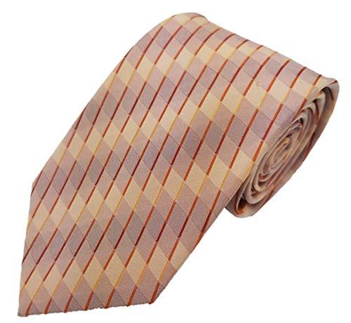 Silk Ties stropdas zijde ruiten 8 cm