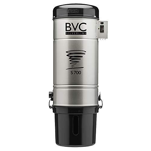 Bvc EBS S S 700 SILVERLINE Aspirateur centralisé 2000 W env. 730 Airwatt/à partir de 200 m² de surface