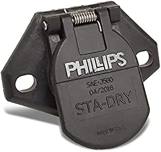 UrMarketOutlet Phillips 16-724 7-Way 2-Hole Bullet Termination Split Pin Socket Replacement