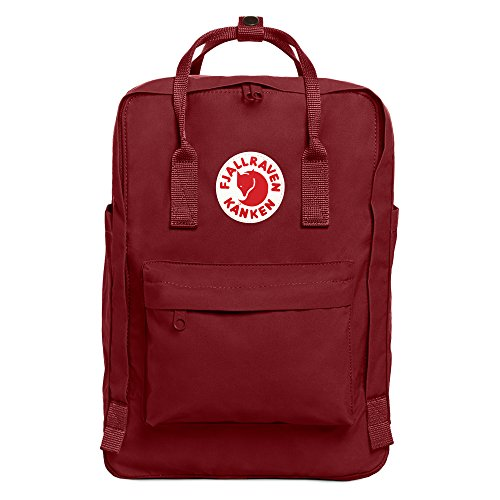"Fjallraven - Kanken cute Laptop Backpack, 15"" Ox Red"