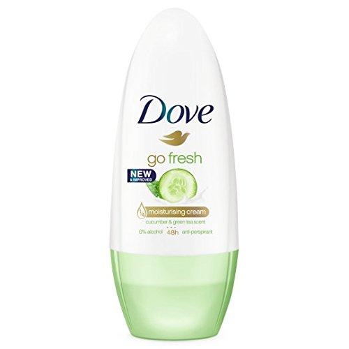 Dove Go Concombre Frais Roll-On Anti-Transpirant Déodorant 50Ml