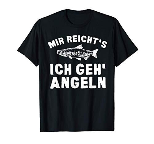 Mir Reicht's Ich Geh Angeln Fischer Angler T-Shirt