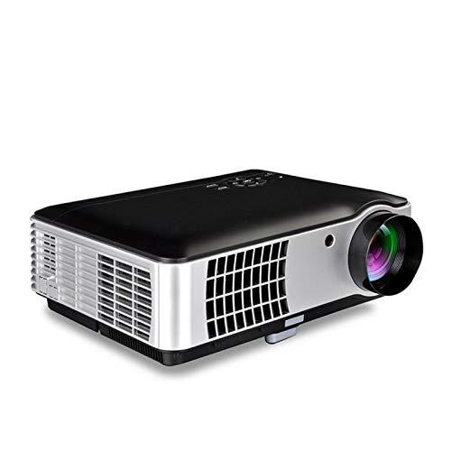 SHISHUFEN RD-806 1200LM 1280x800 Proyector LED de Cine en casa con Control Remoto, Compatible con HDMI, VGA, AV, TV, interfaces USB