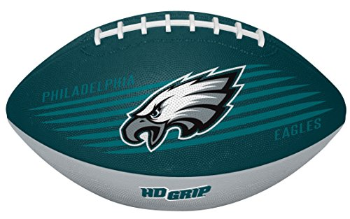 Rawlings NFL Philadelphia Eagles 07731080111NFL Downfield Football (All Team Options), Green, Youth
