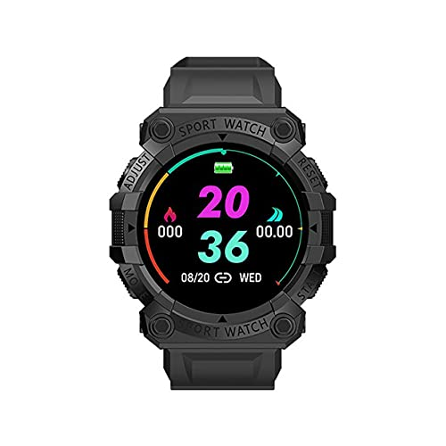 FD68S 1.44'Smart Watch Hombres Mujeres Smartwatches Heart Rate Wireless Fitness Wristwatch Sport Smartwatch