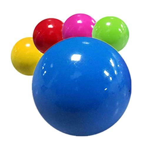 Maxte 1/3/5/10 bolas de alivio de estrés fluorescentes para ejercicio y alivio del estrés