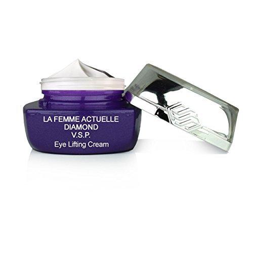 La Femme Actuelle Diamond V.S.P - Crema lifting para el párpado - Reduce los círculos oscuros y reduce la hinchazón alrededor de los ojos