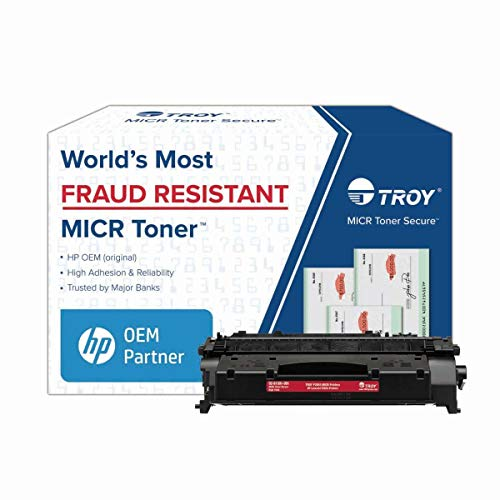 TROY 2055 MICR Toner Secure High Yield Cartridge 02-81501-001 yield 6,500