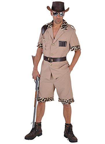 Panelize Safari Dschungel Safarikostüm Dschungelkostüm Safarianzug Outdoor S- XL (L)