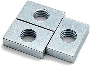 Multifunctioneel 50 stks Vierkant Moer M3 M4 M5 M6 M8 Rechthoekige Noten Aluminium Profiel Accessoire Slider Blok Dunne Ca...