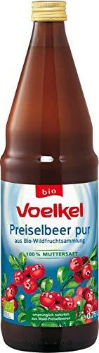 Voelkel Bio Preiselbeer pur - Muttersaft (1 x 750 ml)