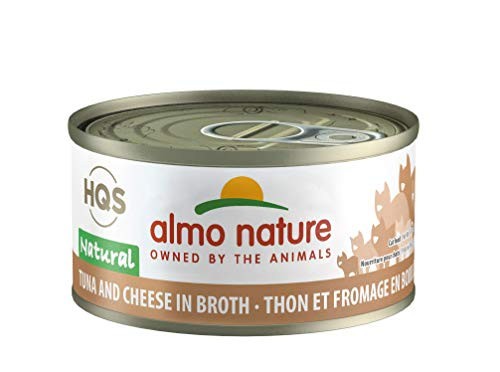 Almo Nature HQS Natural Chicken Drumstick Grain Free Wet Canned Cat Food (24 Pack of 2.47 oz/70g Cans)