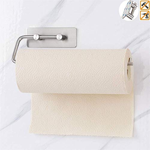 ETDWA Soporte de Papel higiénico Autoadhesivo SUS304 Soport