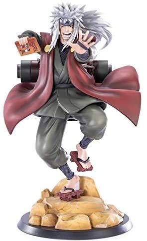 GUOYULIN Narutos Shippuden GK Jiraiya Anime Modelo Figura de acción Estatua de PVC Gama Sennin Juguetes coleccionables para niños decoración de Escritorio Figura de Anime Figma