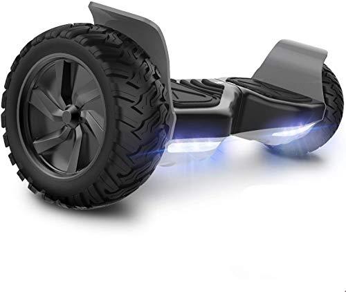 GeekMe Hoverboard Patinete Eléctrico Todo Terreno Scooter de Equilibrio con Potente Motor...