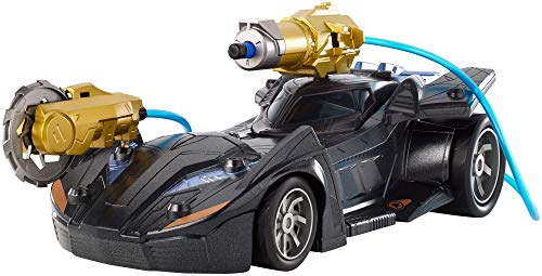 DC Comics Batman Knight Missions Air Power Cannon Attack Batmobile Vehicle