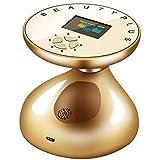 LOVEHOUGE Cuerpo 3D RF que adelgaza la máquina,Máquina de la cavitación,Masajeador del retiro de las celulitis para la pérdida de peso y el cuidado de la piel, oro