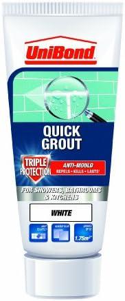 UniBond Triple Protect Anti-Mould Wall Tile Grout Tube - White