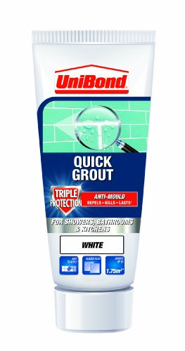 UniBond Triple Protect Anti-Mould Wall Tile Grout Tube - White