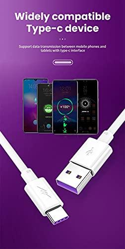 Câble USB Type C 1M,Cordon Chargeur Rapide pour Xiaomi Redmi Note 9T 10 9 8 Pro 9S 10S,Mi 10T 11 Lite 11i/11 Ultra 5G,Poco M3/X3 Pro Nfc/F3,Huawei P30 P40 P20,Nokia 5.3 6.2 6.1 5.4