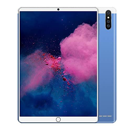 Tableta Android de 10.1 Pulgadas Llamada 3G 1GB RAM 16GB ROM / 128GB Expand HD Pantalla IPS Cámara de 0.3MP y 2.0MP, GPS, FM, WiFi, Bluetooth para lecciones en línea, Lectura,Azul