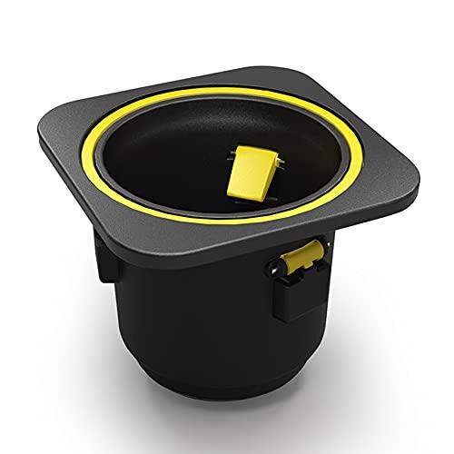 iolloi Cup Holder with Self-Balancing Portabibite senza fuoriuscite Accessori per iolloi Couch Pro, nero e giallo
