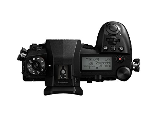 Panasonic DC-G9EG-K Lumix G Systemkamera (20 MP, 4K/6K, Dual I.S, OLED-Sucher, WiFi, schwarz) & LUMIX DMW-BLF19E Li-Ion Akku (geeignet für LUMIX GH4 und LUMIX GH3) schwarz